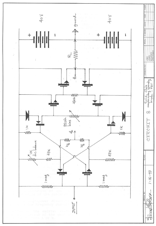 Analog Audio Amplifier Design 300w High Power Schematic Diagram
