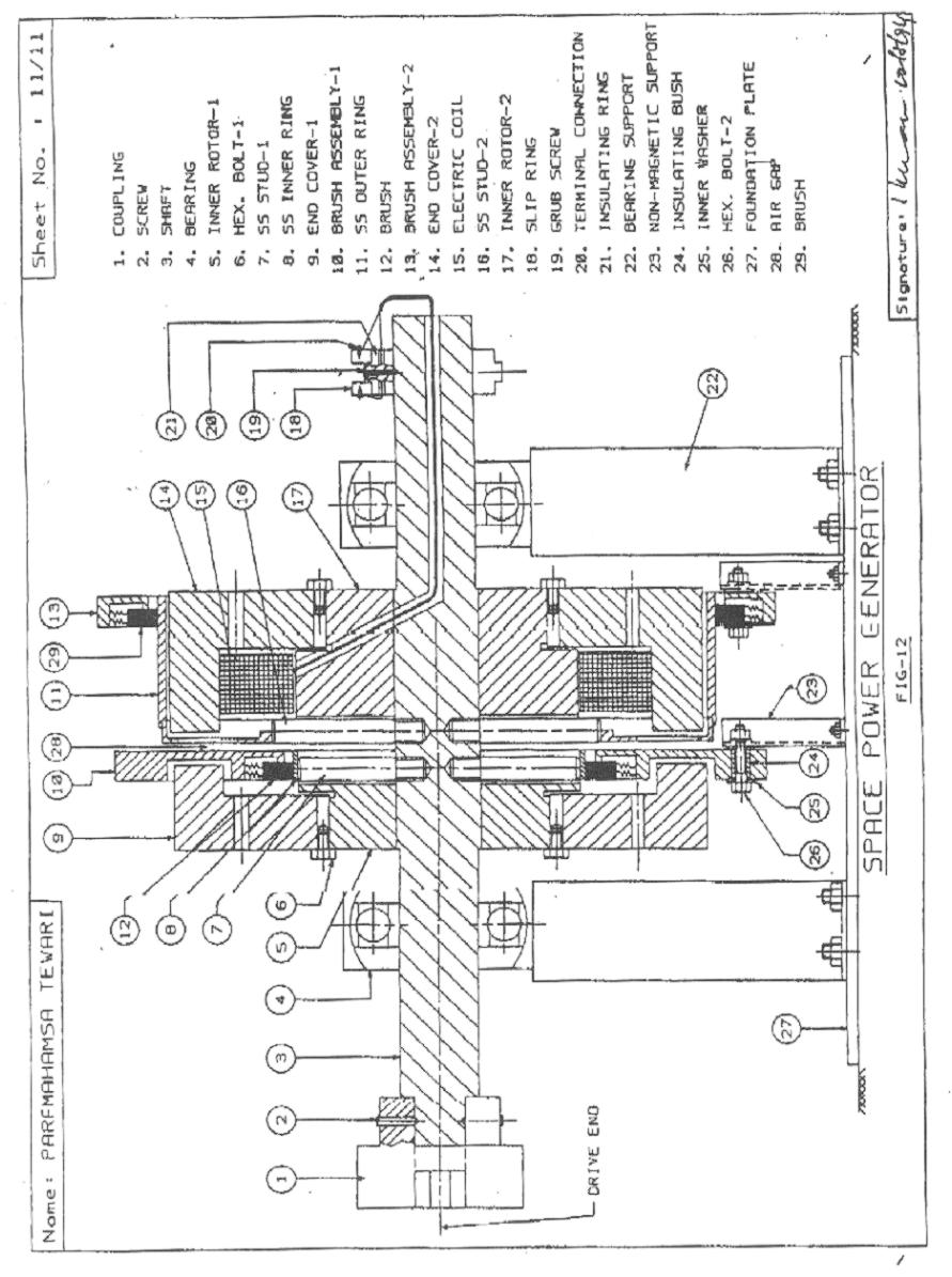 Space Power Generator Patent Magnetic Diagram Further Description Of The Present Invention Is Given Now In Following Specifications And Attached Drawings